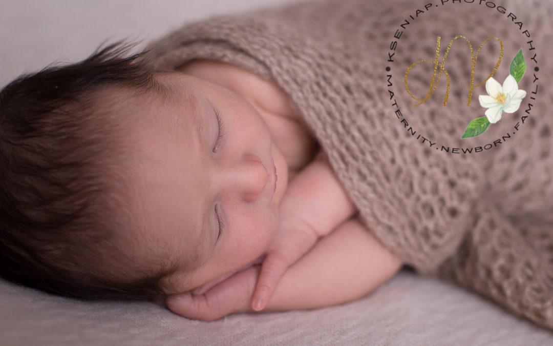 Newborn session for Leland.